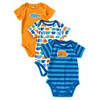 Whale Bodysuit 3-Pack