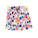 Painted Dot Pleated Skort