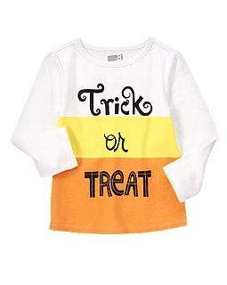 Sparkle Trick Or Treat Tee