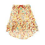 Wildflower Asymmetrical Skirt