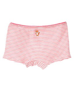 Kitty Stripe Hipster Underwear