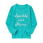Sequin Sparkle and Shine Tee