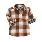 Plaid Double Weave Shirt