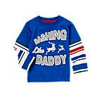 Dashing Like Daddy Double Sleeve Tee