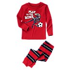 Soccer T-Rex Two-Piece Pajama Set