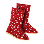 Sparkle Star Cozy Boots