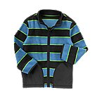 Stripe Microfleece Jacket