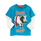 Pork Chop Double Sleeve Tee