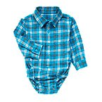 Plaid Flannel Bodysuit