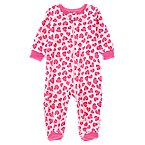 Heart Footed Microfleece Sleeper