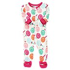 Lollipop Footed Microfleece Sleeper
