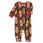 Bear Footed Microfleece Sleeper