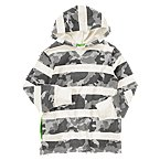 Camo Stripe Hooded Pullover