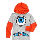 Cyclops Hooded Double Sleeve Tee