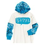 ROTFL Hooded Double Sleeve Tee