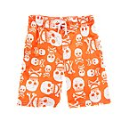 Skull & Crossbones Swim Trunks