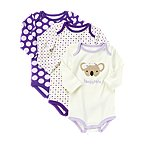 Koala Bodysuit 3-Pack