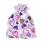 Heart Microfleece Hat