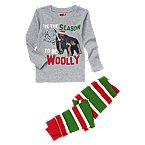Woolly Mammoth Two-Piece Pajama Set