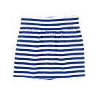 Stripe Terry Skirt