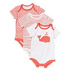 Whale Bodysuits 3-Pack