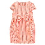 Dot Brocade Bubble Dress