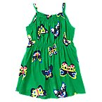 Butterfly Smocked Dress
