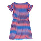 Stripe Roll-Cuff Dress