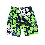 Hibiscus Swim Trunks