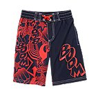 Boom! Pow! Swim Trunks