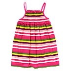Smocked Stripe Dress