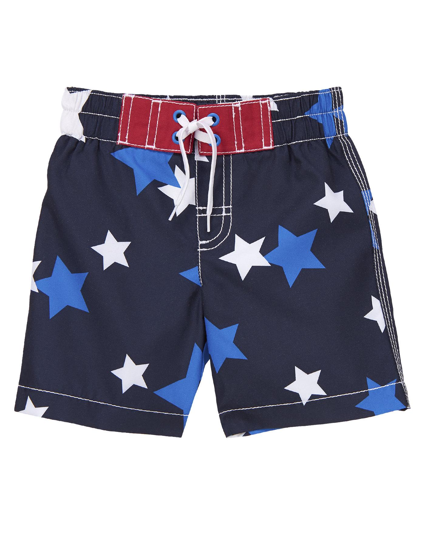 Star Swim Trunks