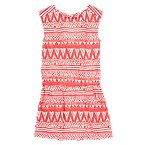 Tribal Print Tee Dress