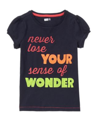 Never Lose Your Sense Of Wonder Tee