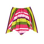 Stripe Handkerchief Skirt