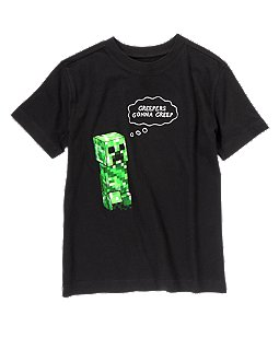 Minecraft Creepers Gonna Creep Tee