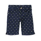 Dot Bermuda Jean Shorts