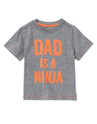 Dad Is A Ninja Tee