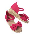 Bow Espadrille Sandals