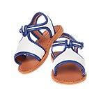 Contrast Trim Sandals