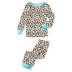 Leopard Print 2-Piece Pajama Set