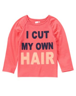 I Cut My Own Hair Tee