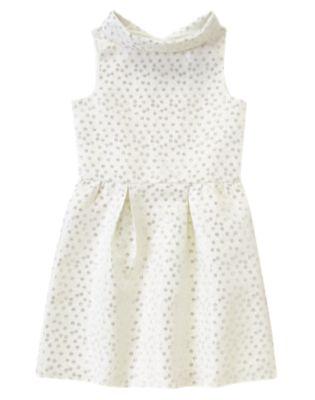Shimmer Dot Dress