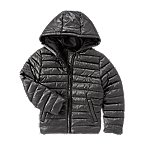 Foil Coated Puffer Jacket