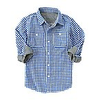 Double Weave Gingham Shirt