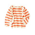 Ruffle Stripe Sweater