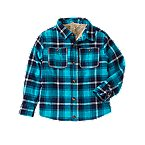 Plaid Flannel Shirt Jacket