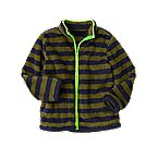 Stripe Sherpa Jacket