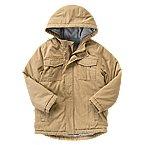 Twill Puffer Jacket