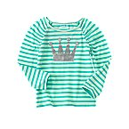 Stripe Crown Tee